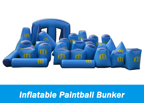Inflatable-Paintball-Bunker