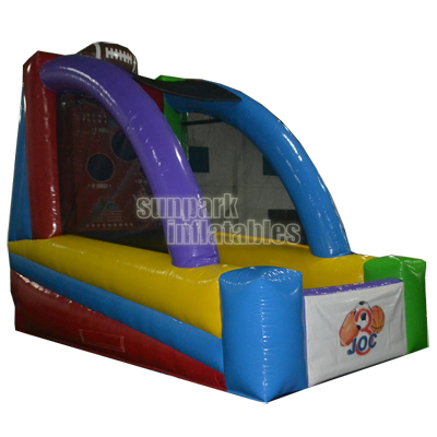 Inflatable Rugby Game Football Toss (2)