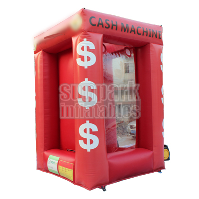 Inflatable Cash Machine Money Cube (1)