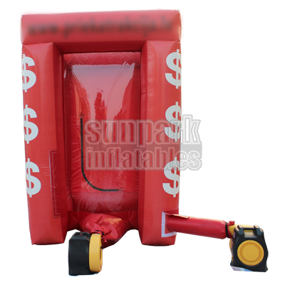 Inflatable Cash Machine Money Cube (2)