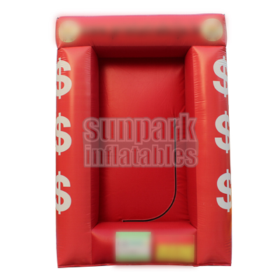 Inflatable Cash Machine Money Cube (4)