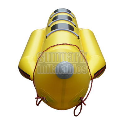 Inflatable Banana Boat ride 3 person water sled (3)