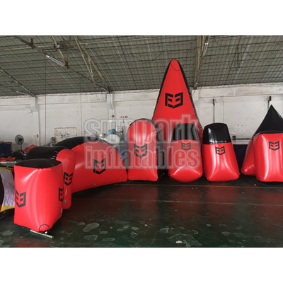Inflatable Archery Tag Bunker (1)