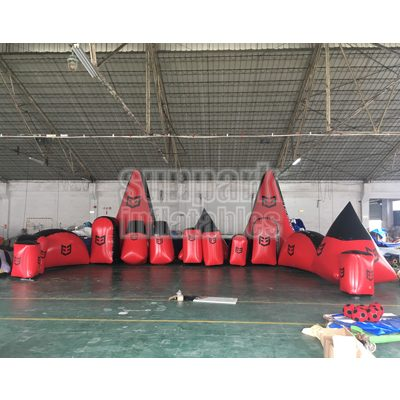 Inflatable Archery Tag Bunker