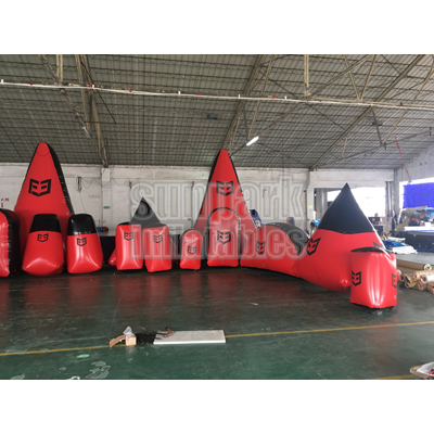Inflatable Archery Tag Bunker (4)