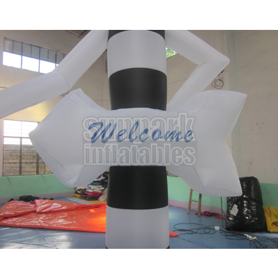 Welcome Air Dancer Inflatable Tube Man (1)