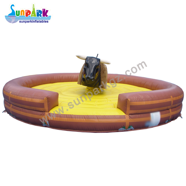 Inflatable Mechanical Rodeo Bull (2)