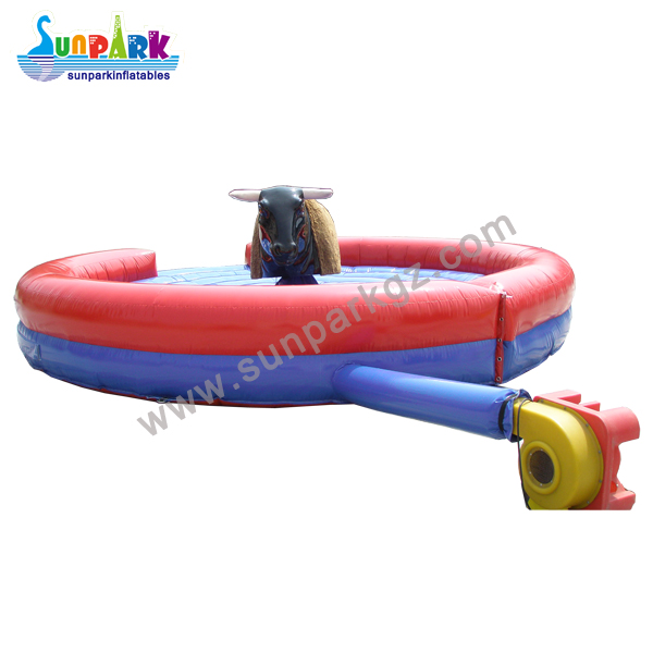Inflatable Rodeo Riding Bull