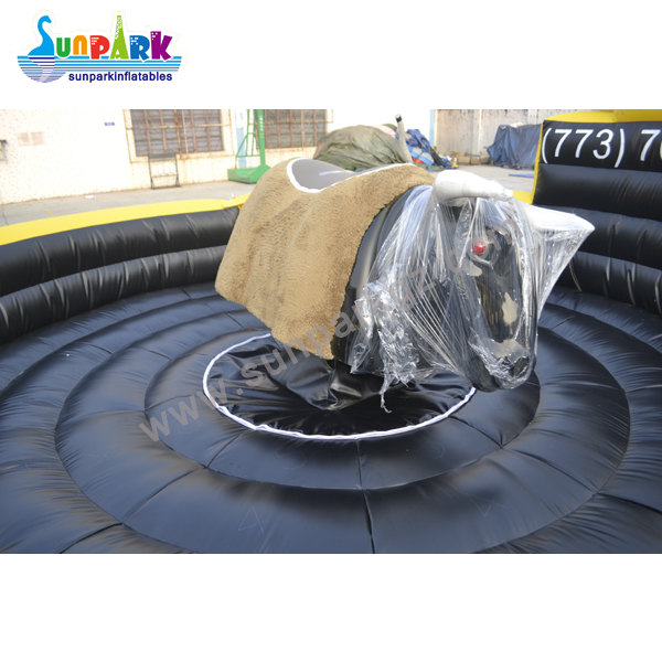 Mechanical Bull Riding Inflatable Bed (2)