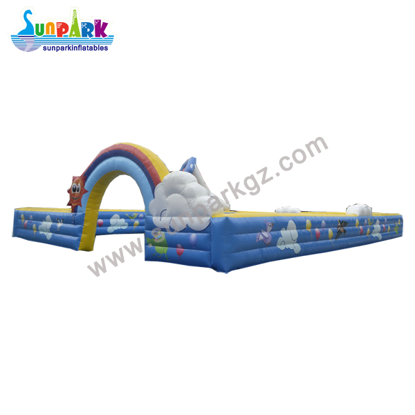 Inflatable Bumper Car Track (1)