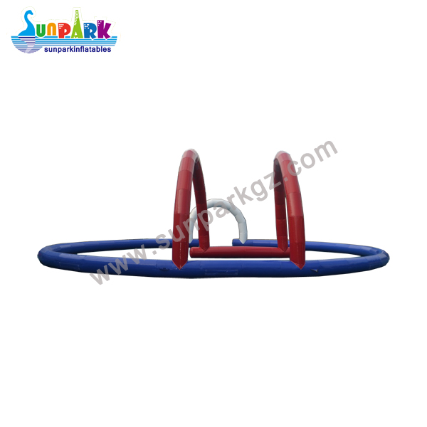 Inflatable Race Car Track Zorbing Circuits (3)