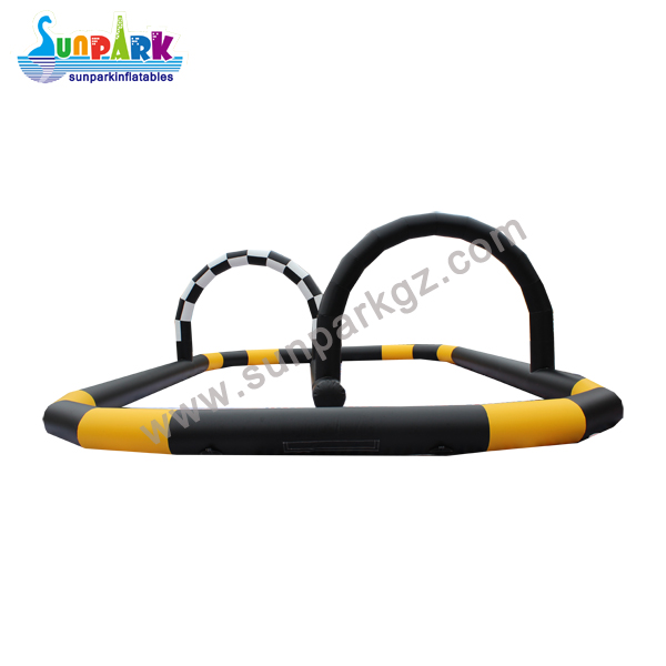 Inflatable Race Track Zorb Ball Circuits (2)
