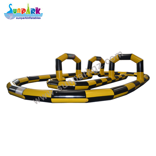Inflatable Racing Tracks Quad Bike (2)