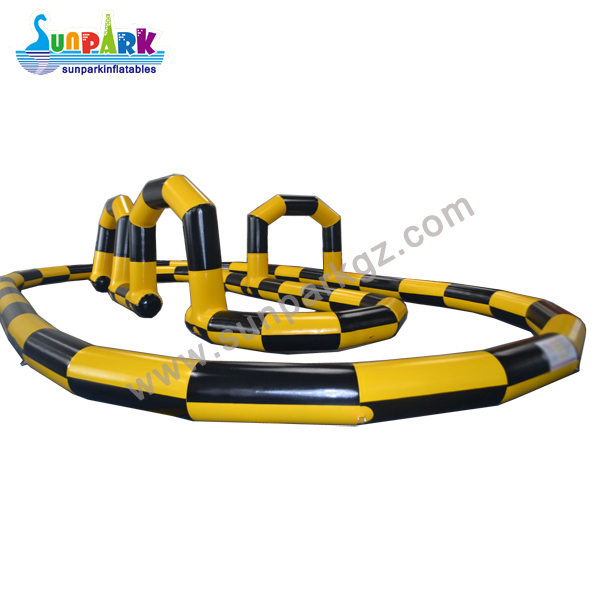 Inflatable Racing Tracks Quad Bike (3)