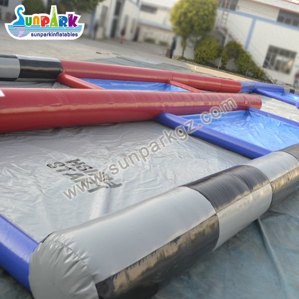 Inflatable Zorb Ball Race Track (3)