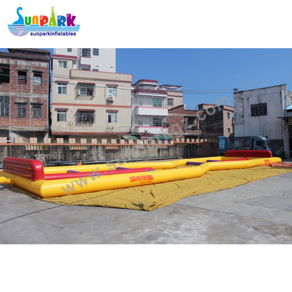 Zorb Ball Racing Inflatable Track (1)