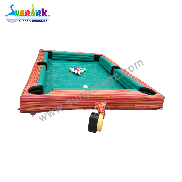 Inflatable Billiards Soccer Table (3)