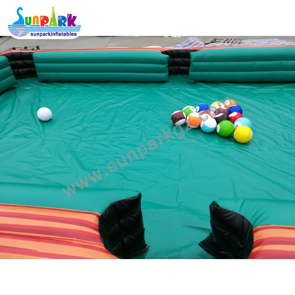 Inflatable Billiards Soccer Table (4)