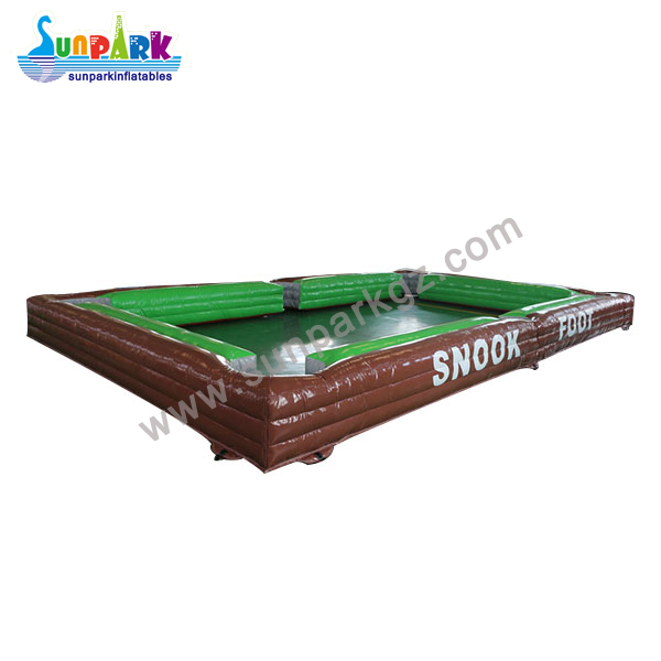 Inflatable Snooker Football Table (2)