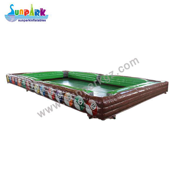 Inflatable Snooker Football Table (3)
