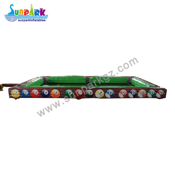 Inflatable Snooker Football Table (4)