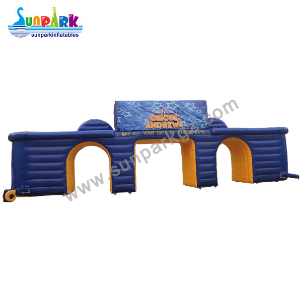 Inflatable Entrance Arch for Circus (2)