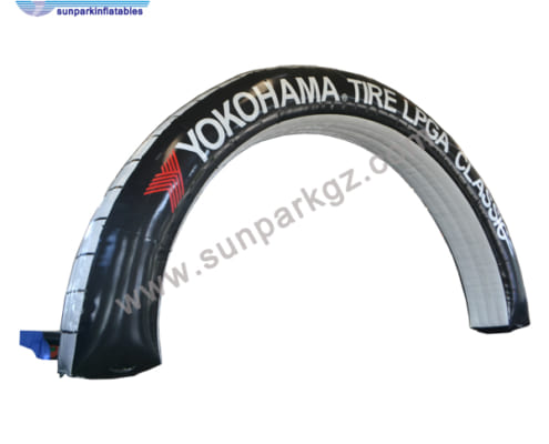 Inflatable Tire Arch (1)