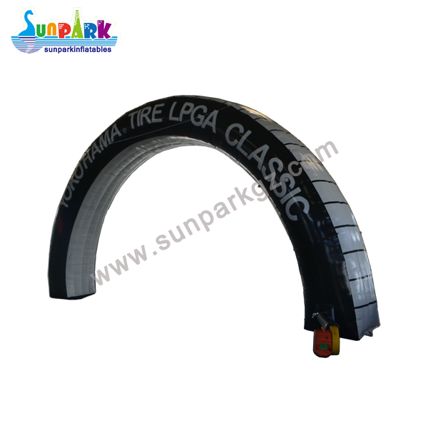 Inflatable Tire Arch (2)