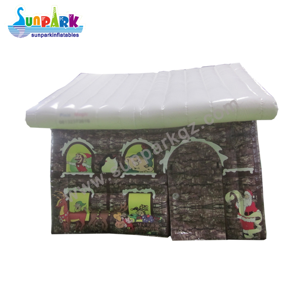 Christmas Decorations Inflatable House (1)