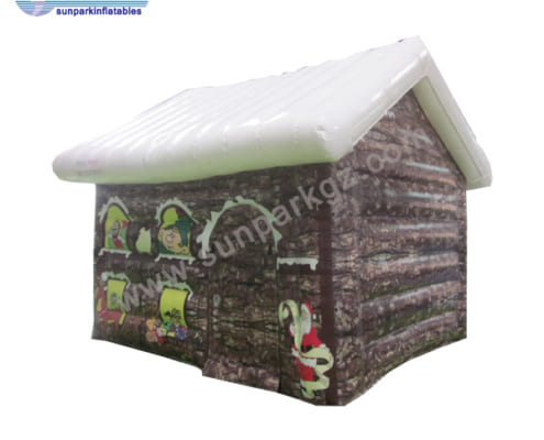 Christmas Decorations Inflatable House (2)
