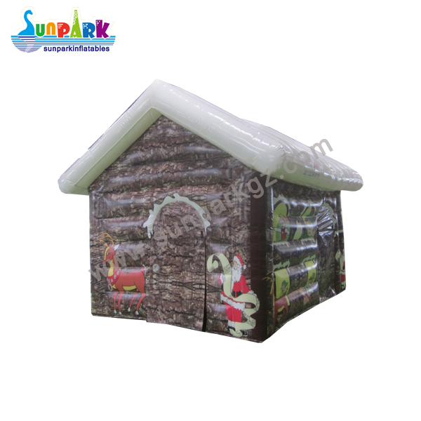 Christmas Decorations Inflatable House (3)