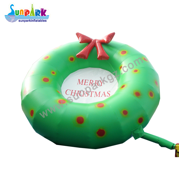 Inflatable Christmas Wreath (2)