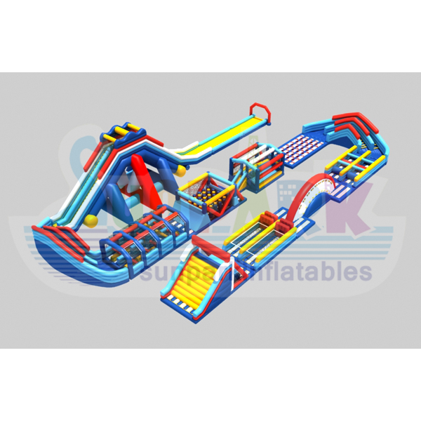 Largest Inflatable Obstacle Course (2)