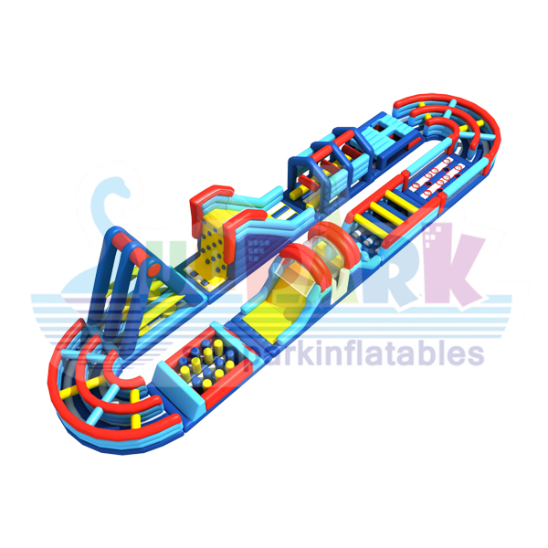 Long Inflatable Course (3)