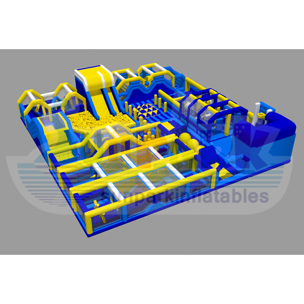 World Largest Inflatable Indoor Play Area (3)